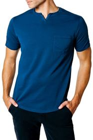 Good Man Brand Cotton Short Sleeve Henley