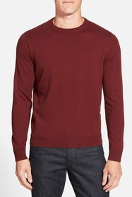 NORDSTROM MEN'S SHOP Cotton & Cashmere Crewneck Sw
