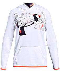 Under Armour Big Girls Armour Fleece Logo-Print Ho