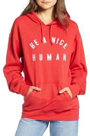 null Be a Nice Human Max Hoodie