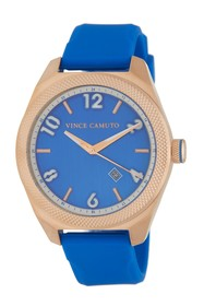 Vince Camuto Men's The Commuter Silicone Strap Wat