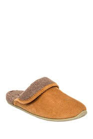 Deer Stags Wail Cord Slipper - Wide Width Availabl