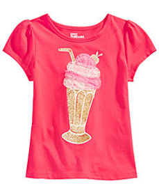 Epic Threads Little Girls Milkshake T-Shirt, Creat