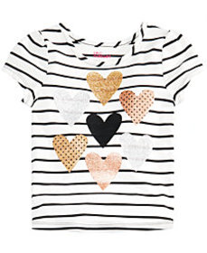 Epic Threads Little Girls Heart-Print T-Shirt, Cre
