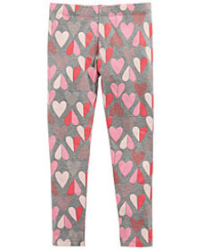 Epic Threads Little Girls Heart-Print Leggings, Cr