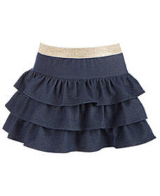 Epic Threads Little Girls Tiered Denim Skirt, Crea