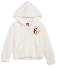 Disney Little Girls Elena Faux-Fur Hoodie