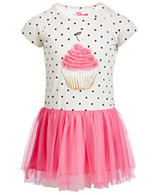 Epic Threads Little Girls Cupcake Tutu Dress, Crea