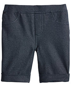 Epic Threads Little Girls Denim-Knit Bermuda Short