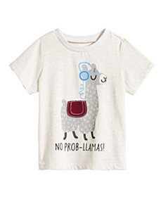 First Impressions Toddler Boys Llama-Print T-Shirt