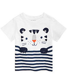 First Impressions Toddler Boys Striped Tiger T-Shi