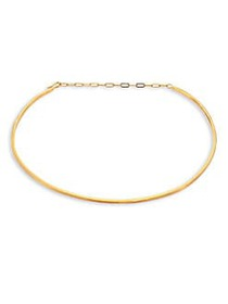 Jennifer Zeuner Jewelry Kerry Choker GOLD