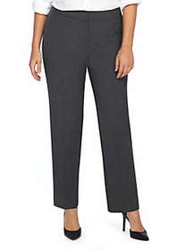 The Limited Plus Size Signature Straight Pant in M
