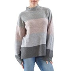 Ottoman Knit Color Block Sweater