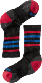 Smartwool Striped Hike Light Crew Socks - Kids'