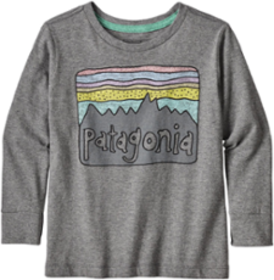 Patagonia Graphic Organic Long-Sleeve T-Shirt - In