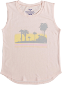 Roxy Sunfade Sleeveless T-Shirt - Girls'