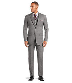 Jos Bank 1905 Tailored Fit Birdseye Suit - Big & T