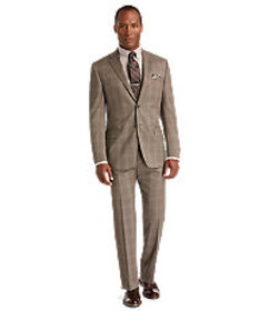 Jos Bank Reserve Collection Tailored Fit Plaid Sui