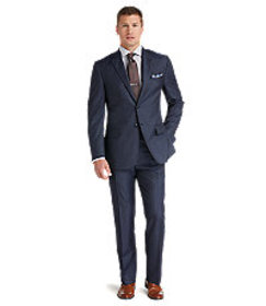Jos Bank Reserve Collection Tailored Fit Herringbo