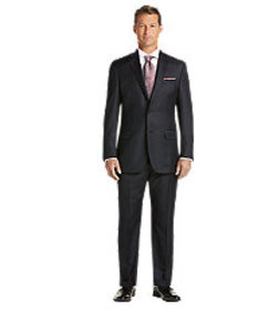 Jos Bank Signature Gold Traditional Fit Suit - Big