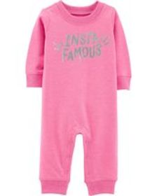 carters Baby Girl Insta Famous Jumpsuit