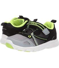 Stride Rite Black/Neon
