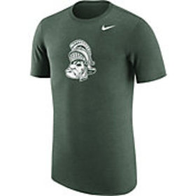 Nike Men's Michigan State Spartans Heathered Green