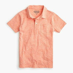 J. Crew Boys' polo shirt in the softest jersey
