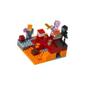 Lego The Nether Fight