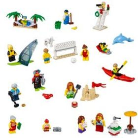 Lego People pack – Fun at the beach