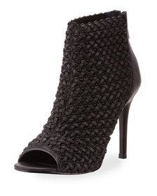 Charles by Charles David Reece 2 Open-Toe Woven Bo