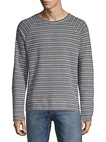 Black Brown 1826 Multi-Stripe Long-Sleeve Top SLAT