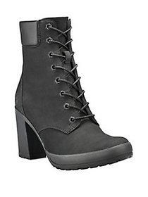 Timberland Camdale Leather Lace-Up Boots BLACK