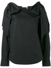 Chloé knot sleeve top