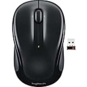 Logitech M325 Optical Wireless Ambidextrous Mouse,