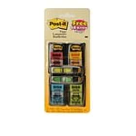 Post-it® Sign Here Message Flags Value Pack, .94 W
