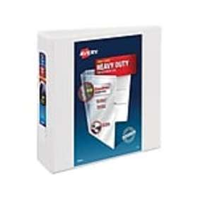 Avery Heavy-Duty 3 3-Ring View Binder, White (7919