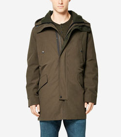 Cole Haan Utility Rain 3-in-1 Anorack with Primalo