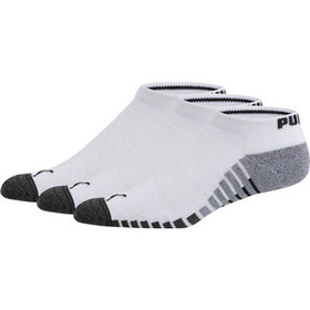 Puma Men's Terry Low-Cut Socks (3 Pack)