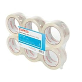 Staples® Ultra Heavy Duty Shipping Tape, 1.88 x 54