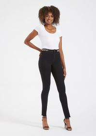 Tall Siena High Beaded Waist Jeans