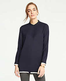 Tall Tipped Tunic Blouse