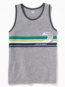 Graphic Tank for Boys