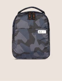 Armani GEO CAMO PADDED BACKPACK