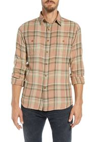 Frye Miles Regular Fit Plaid Workshirt