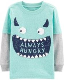 Osh Kosh Baby BoyMonster Layered Look Tee