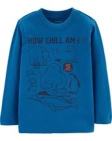 carters Baby Boy How Chill I Am Jersey Tee