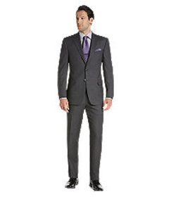 Jos Bank Reserve Collection Tailored Fit Stripe Su