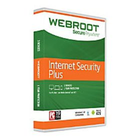 Webroot SecureAnywhere Internet Security Plus With